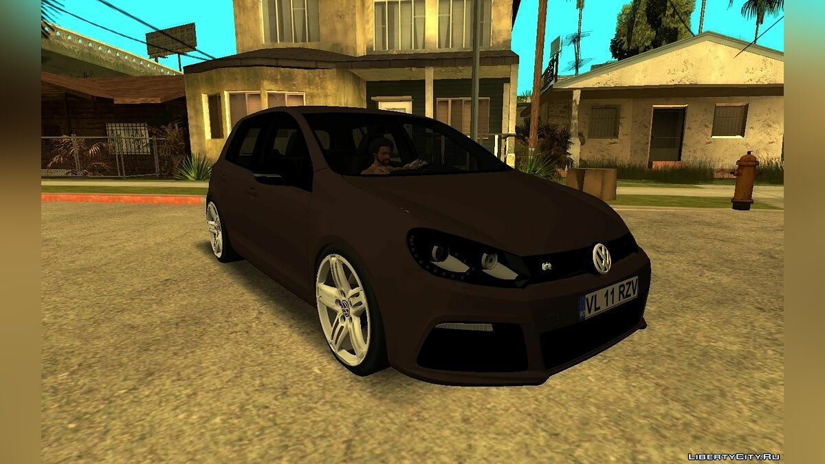 Volkswagen car Volkswagen Golf 6 R for GTA San Andreas