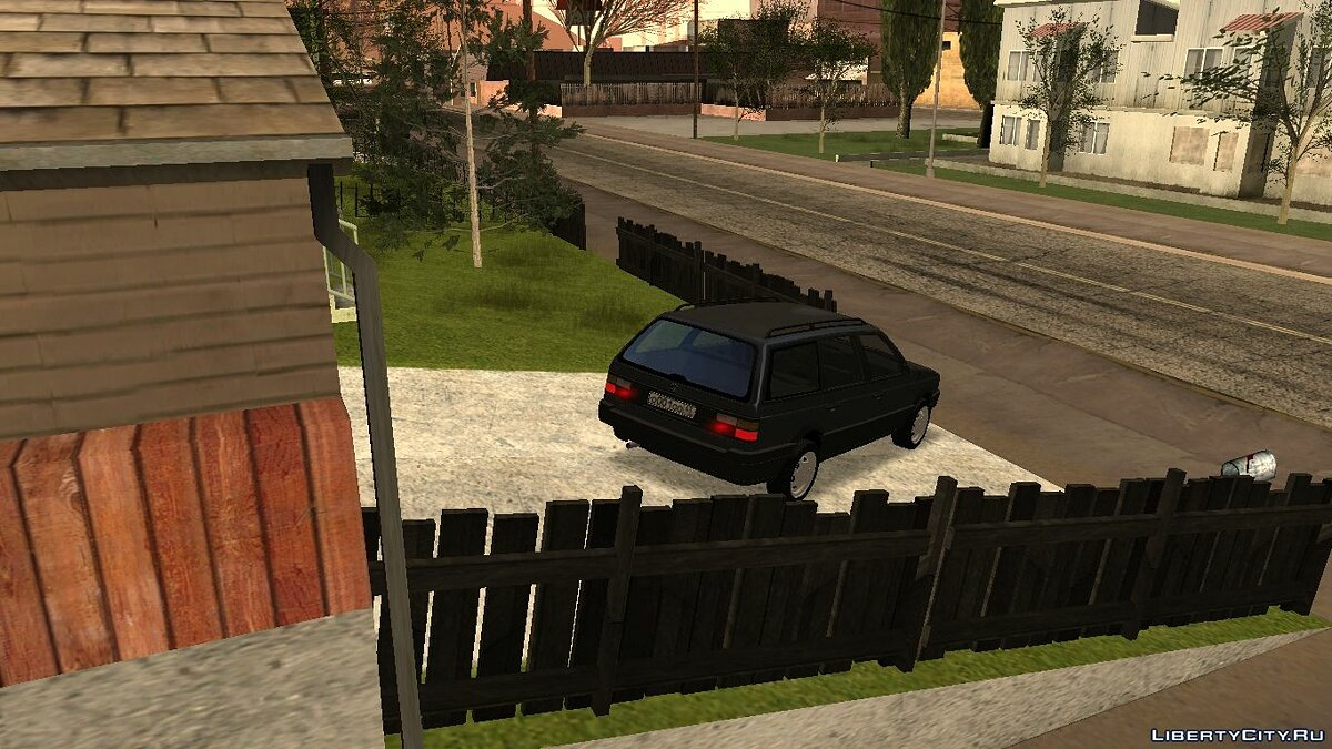 Volkswagen car Volkswagen Passat B3 Variant with tuning for GTA San Andreas