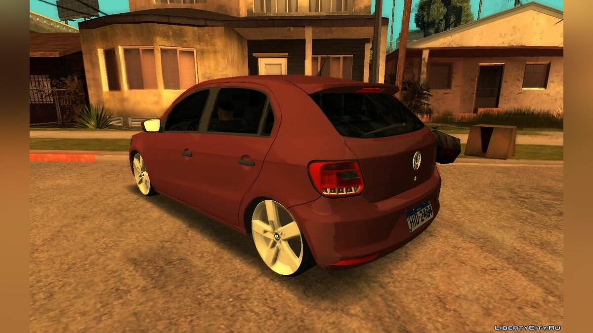 Volkswagen car Volkswagen Gol G6 for GTA San Andreas
