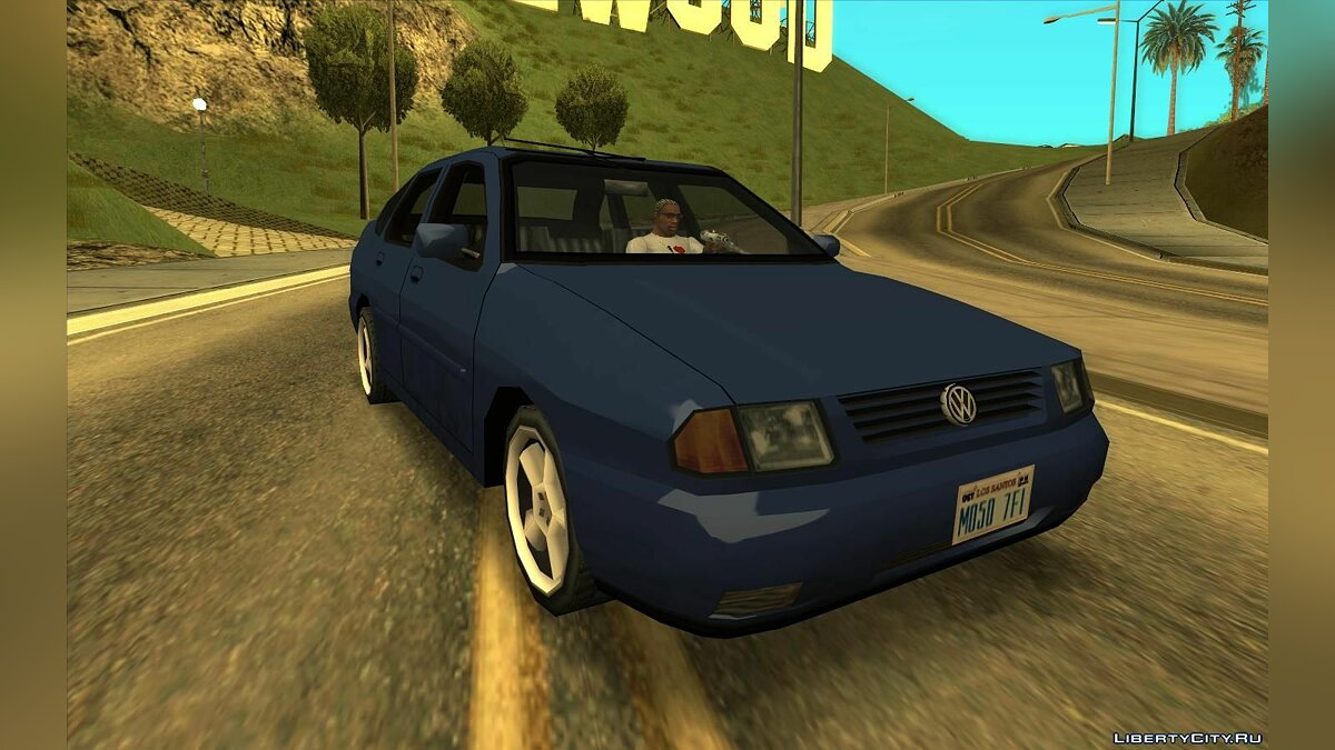 Volkswagen car Volkswagen Polo 1995 for GTA San Andreas