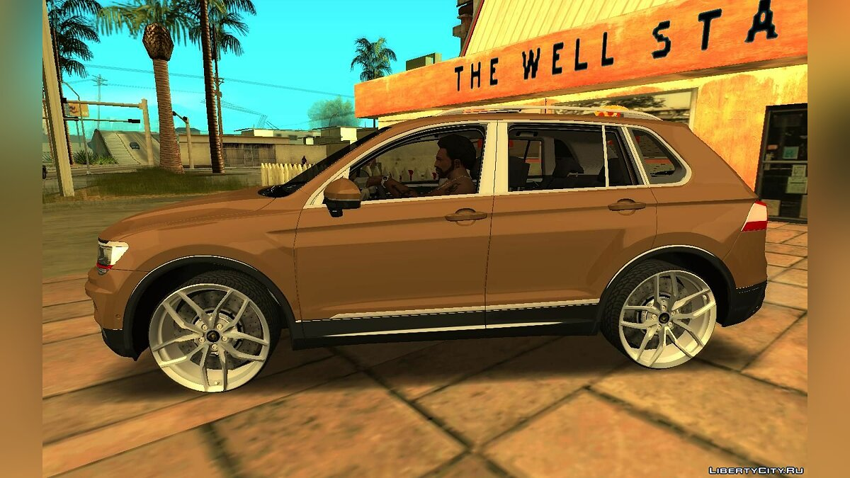Volkswagen car Volkswagen Tiguan 2018 R-line Edit for GTA San Andreas