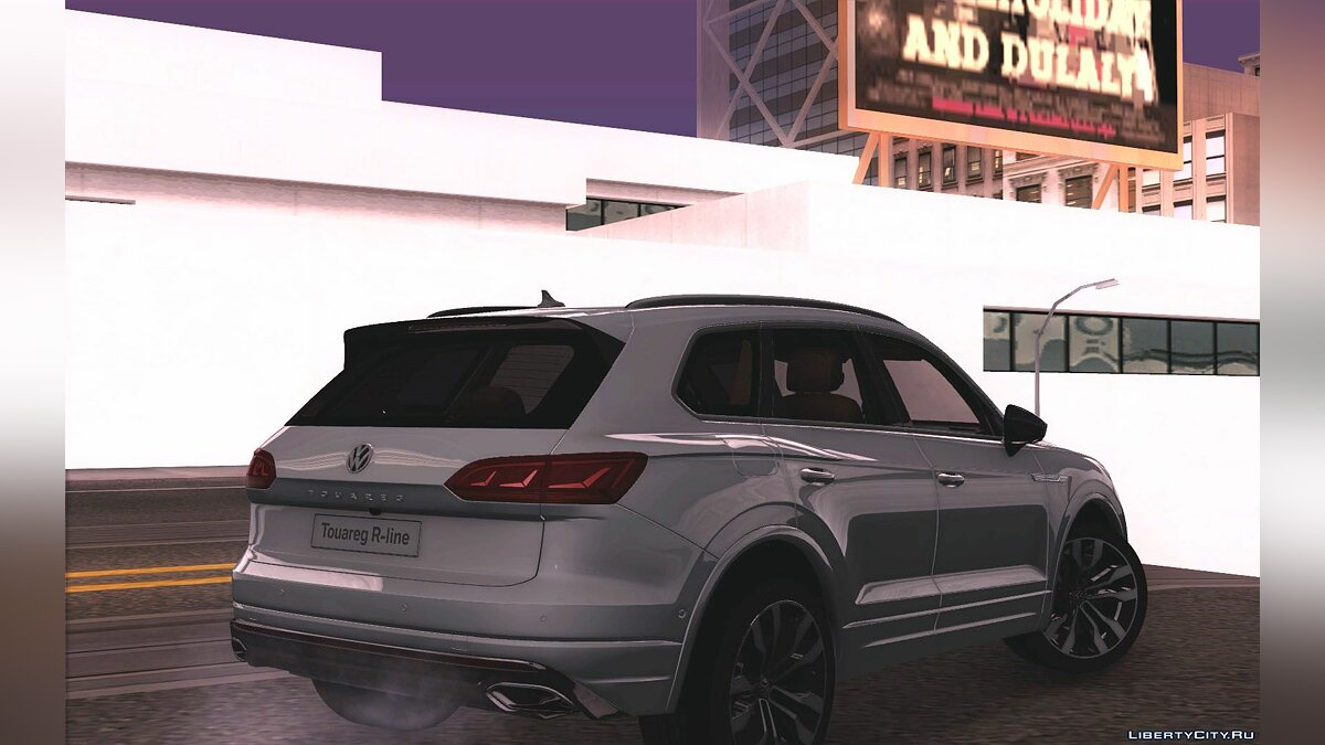 Volkswagen car VW TOUAREG 2019 for GTA San Andreas