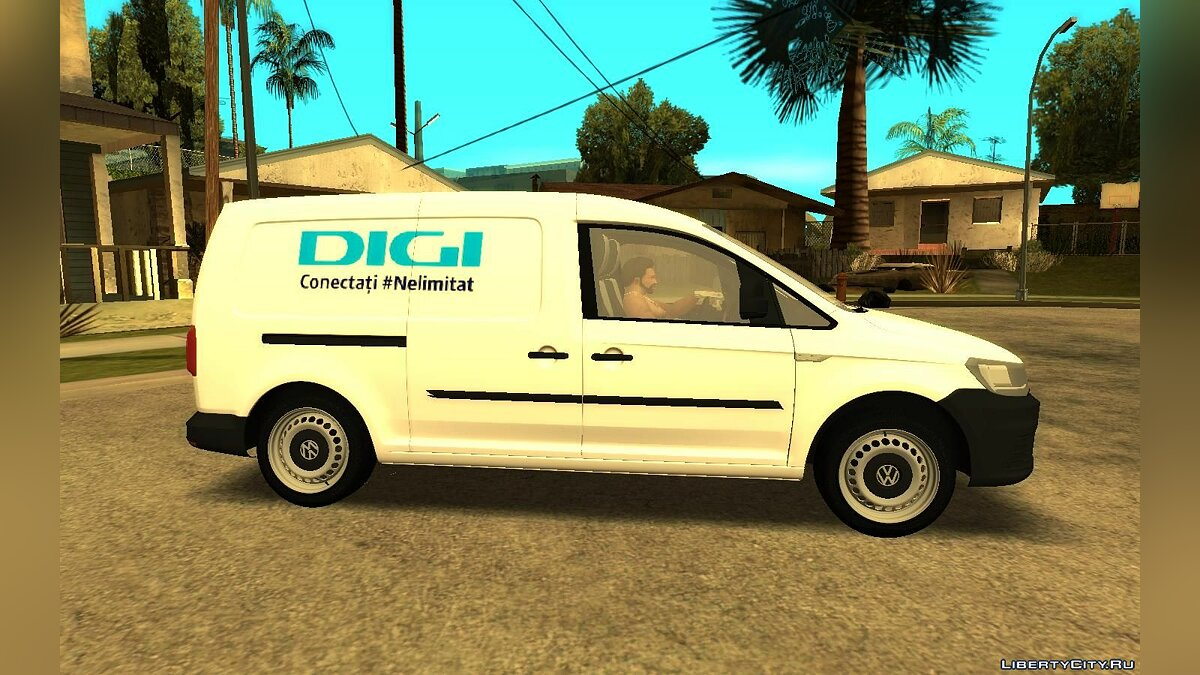 Volkswagen car Volkswagen Caddy Digi Romania for GTA San Andreas