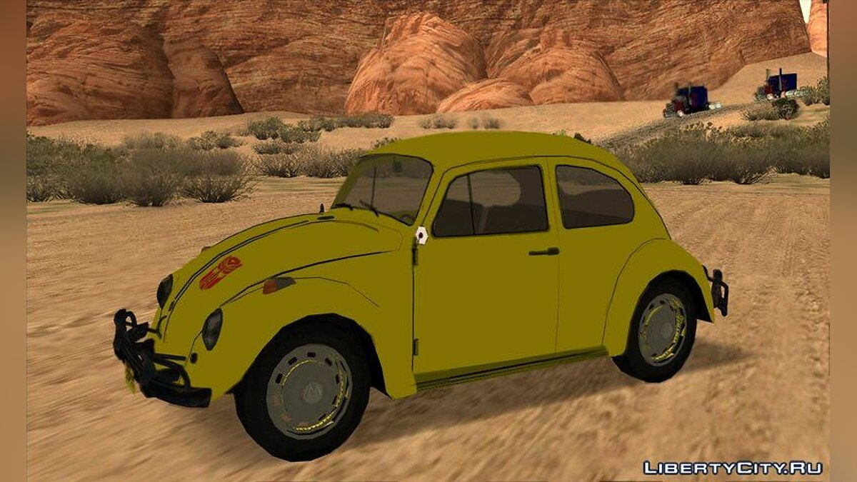 Volkswagen car Transformers G1 Bumblebee for GTA San Andreas