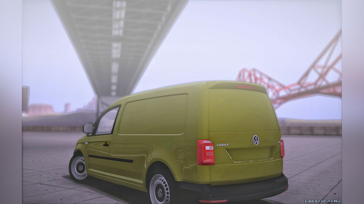 Volkswagen car Volkswagen Caddy Maxi 2016 for GTA San Andreas