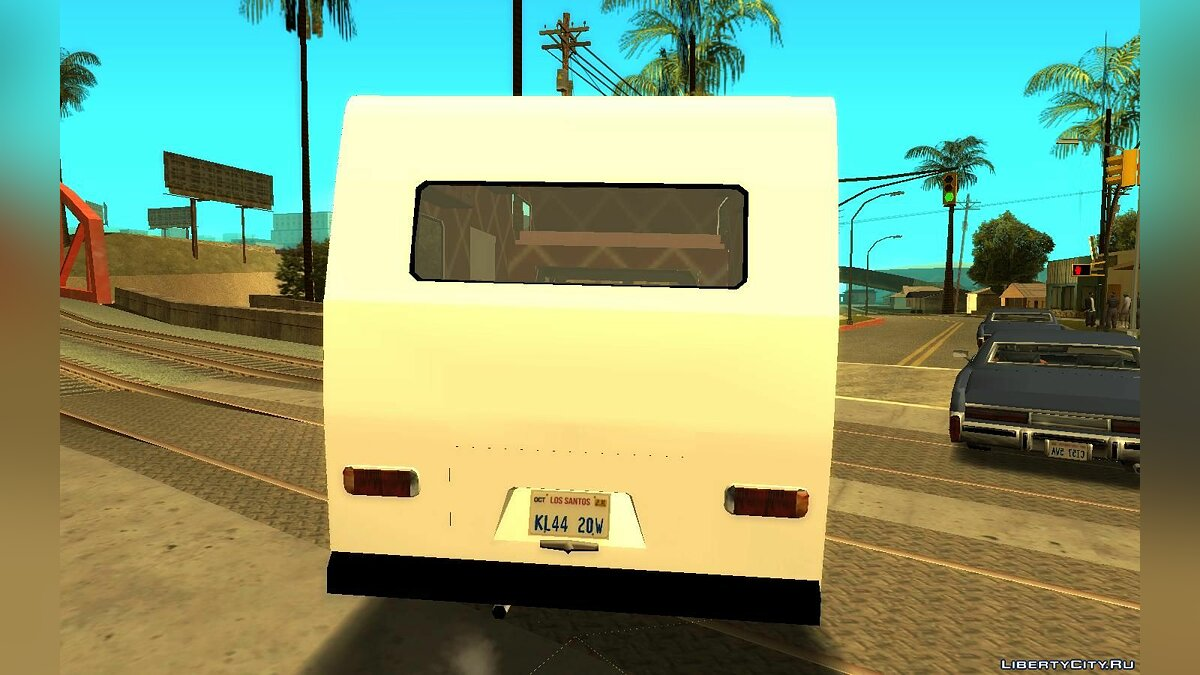 Volkswagen car Volkswagen Kombi Safari for GTA San Andreas