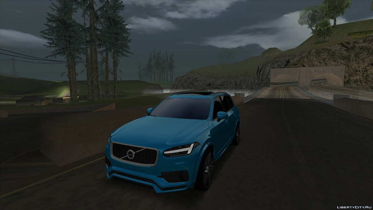 Volvo car Volvo XC90 T8 for GTA San Andreas