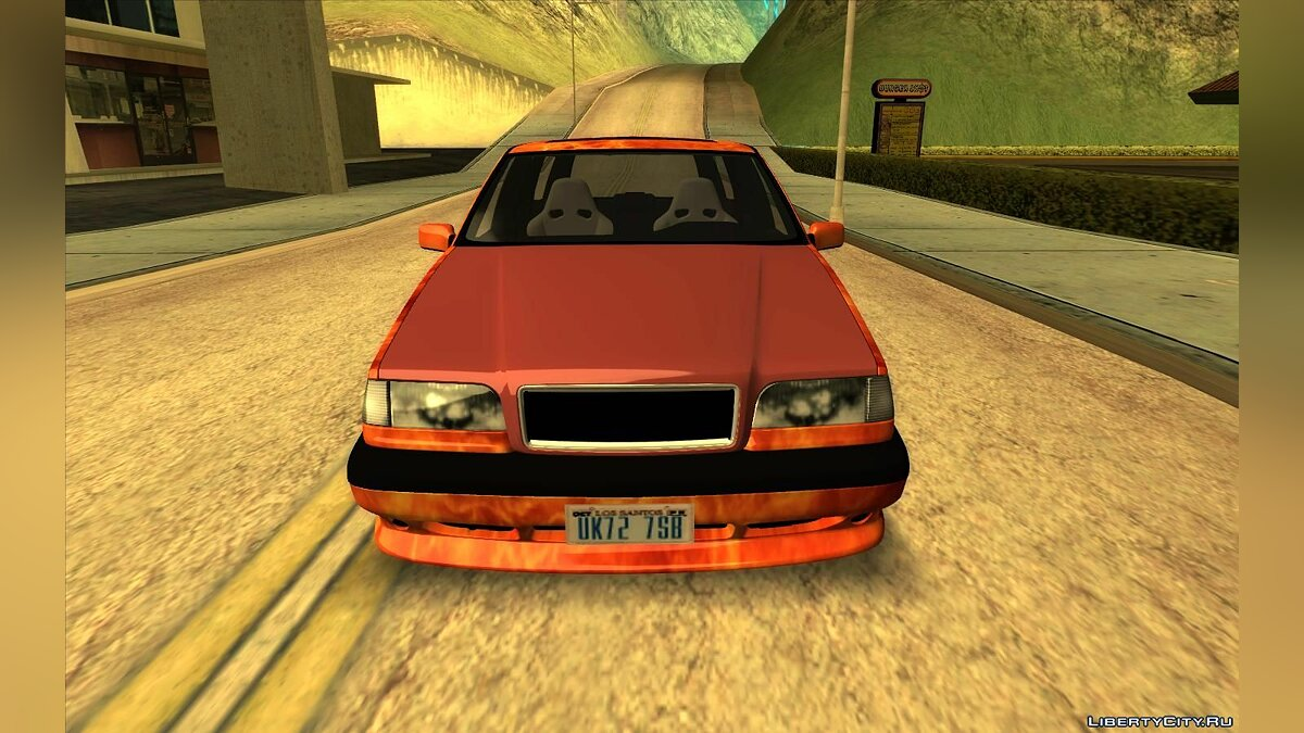 Volvo car Volvo 850 R TT Black Revel for GTA San Andreas