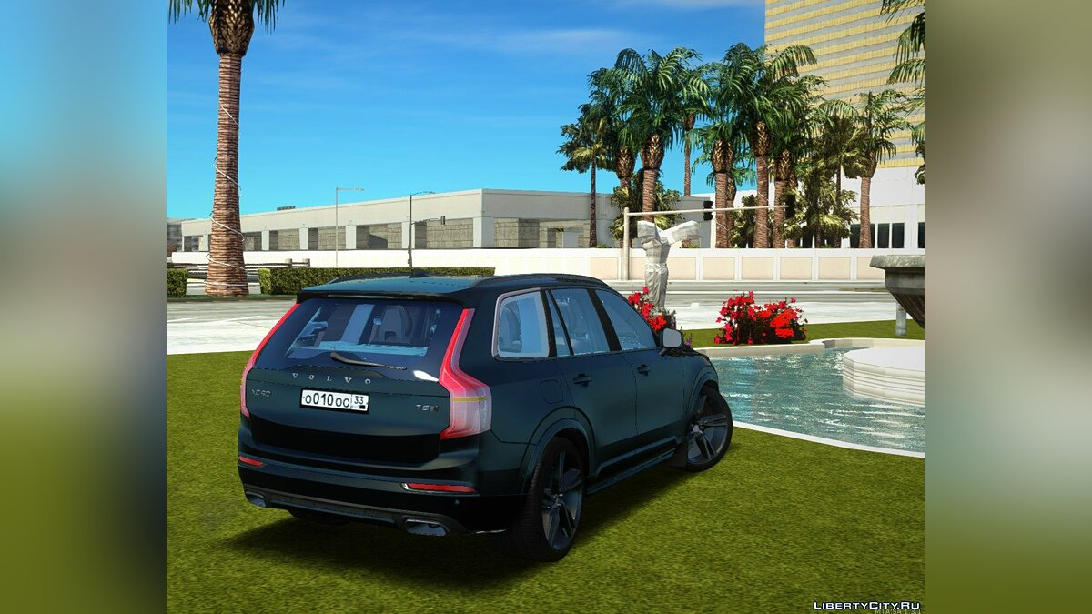 Volvo car Volvo XC90 2018 for GTA San Andreas