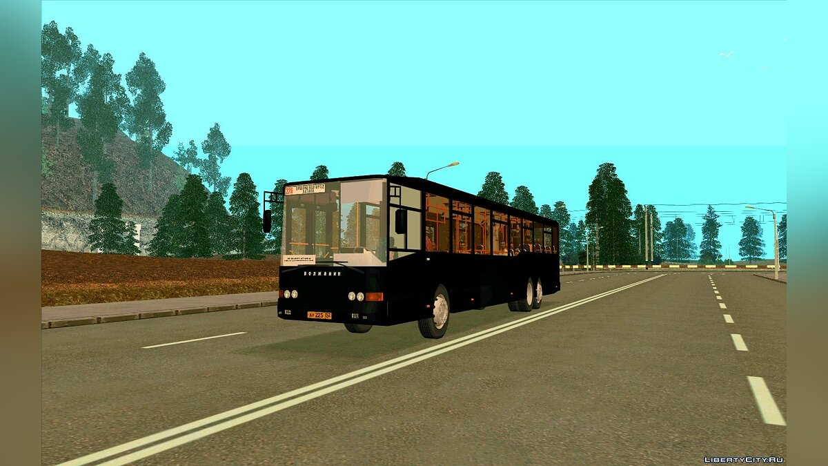 Volzhanin car Volzhanin 6270 for GTA San Andreas