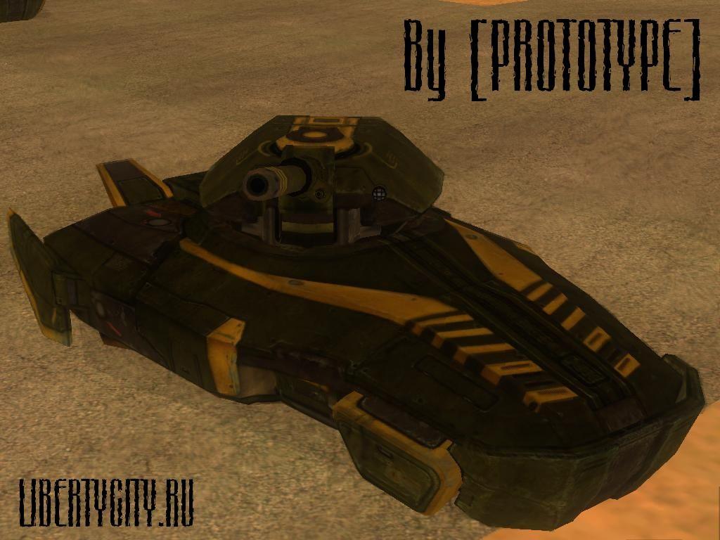 HoverTank from Quake 4 for GTA San Andreas
