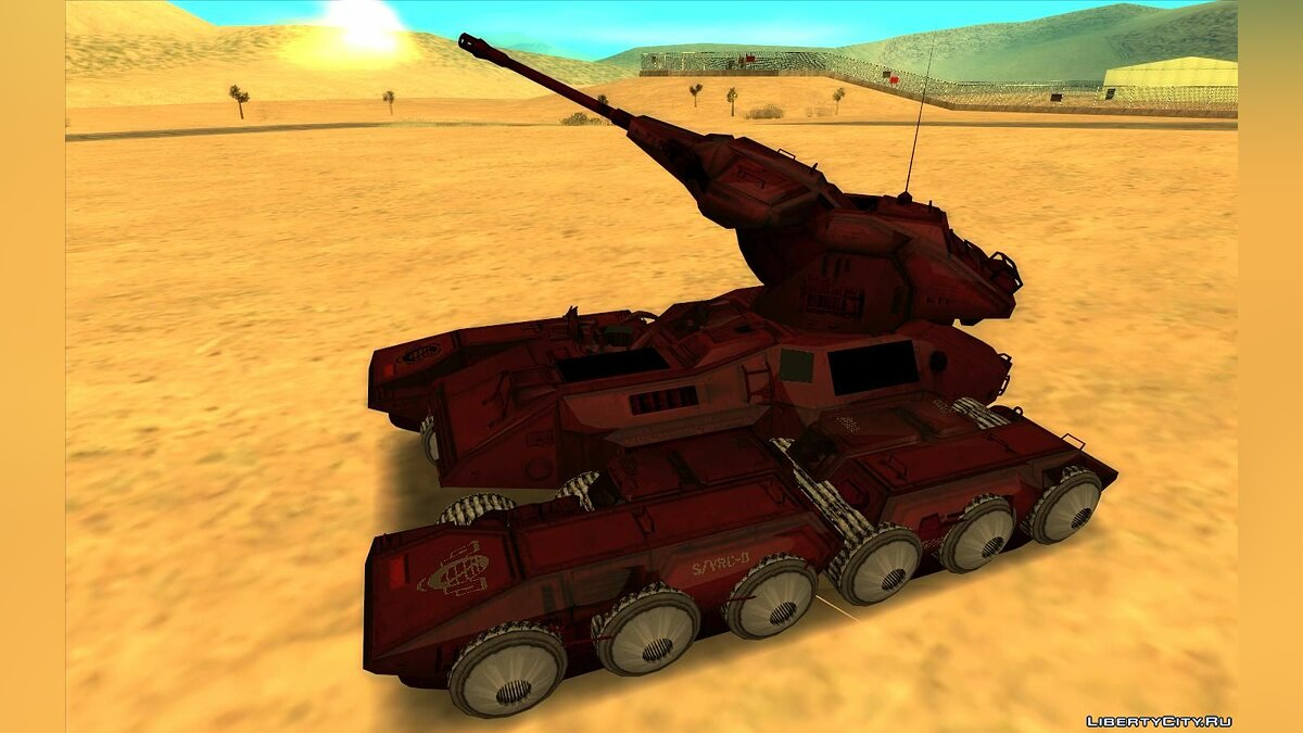 Military vehicle Scorpion of HALO for GTA San Andreas
