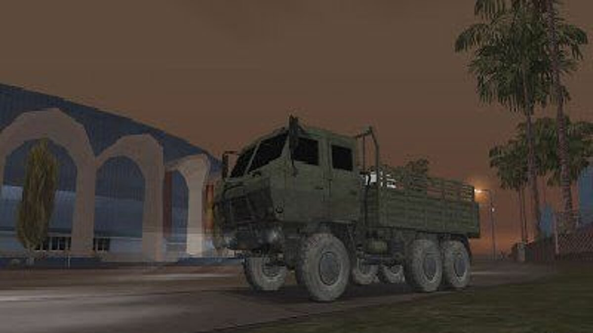 Military vehicle Dongfeng SX Military Truck for GTA San Andreas