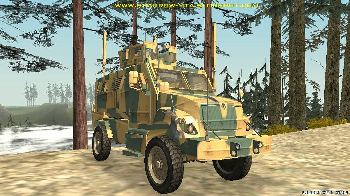 Military vehicle BMC Kirpi for GTA San Andreas