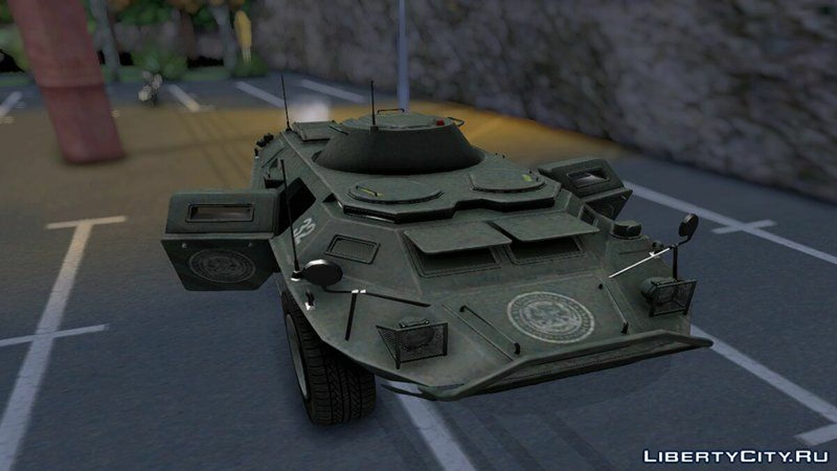 Military vehicle APC from GTA TBoGT for GTA San Andreas