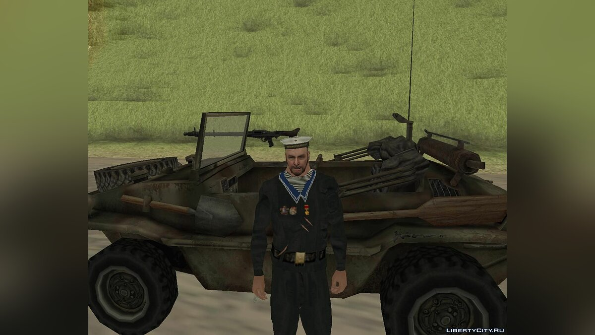 Military vehicle Schwimmwagen for GTA San Andreas