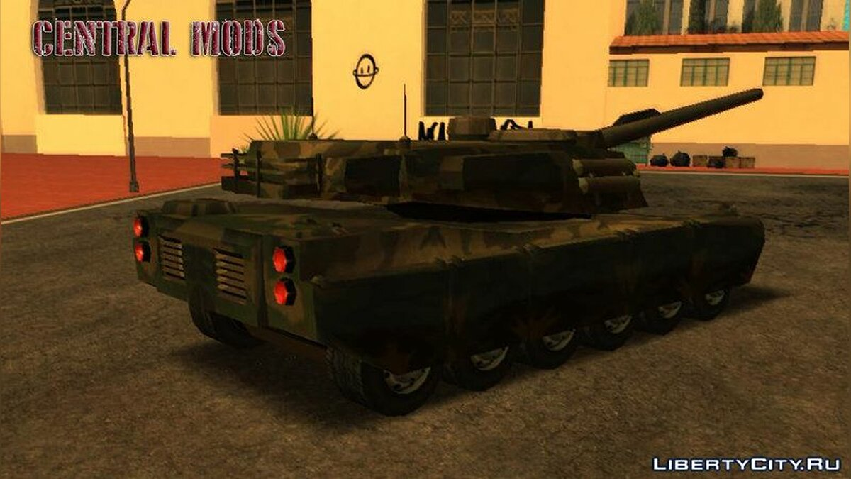 Military vehicle Rhino - Tanque Exercito BR - TCGTABR for GTA San Andreas