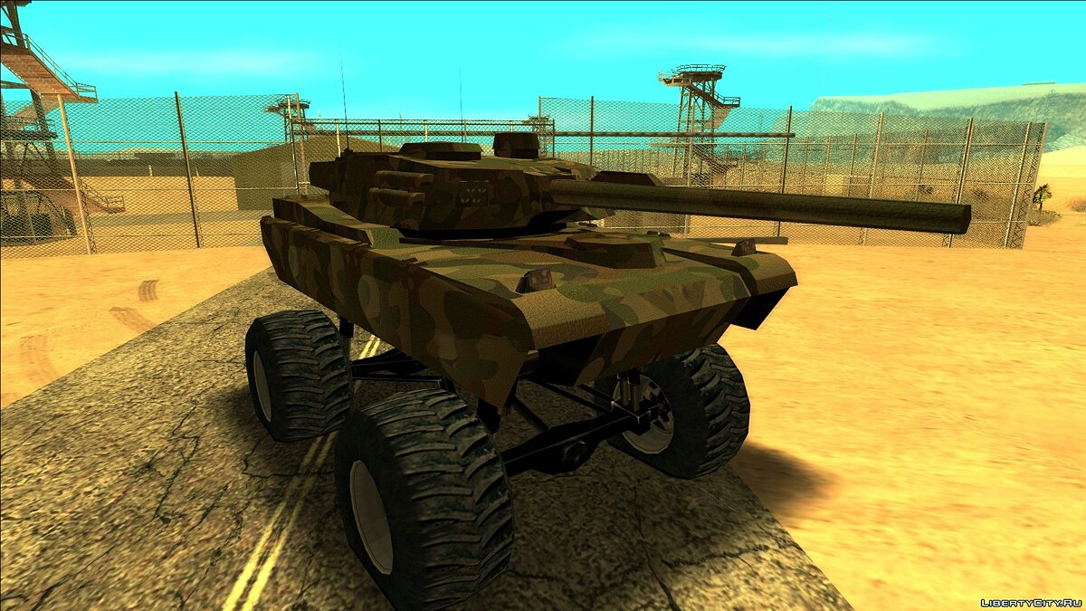 Military vehicle Tank monster for GTA San Andreas