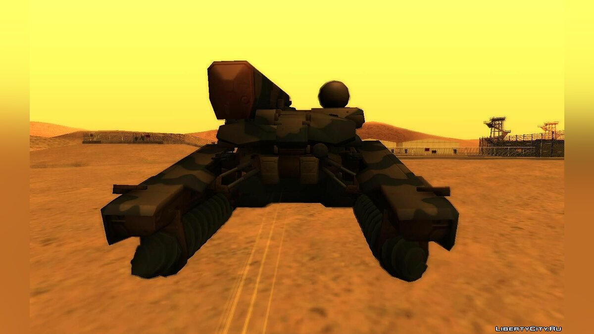 Military vehicle Walker from the game Metal Gear Solid 3 for GTA San Andreas
