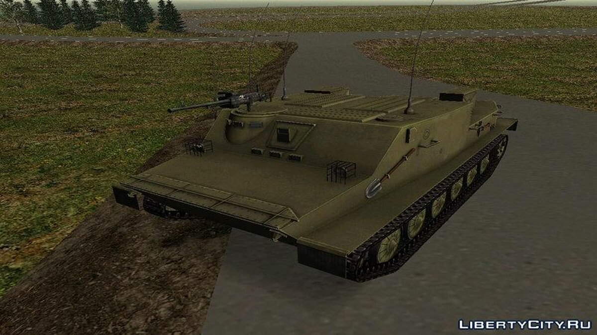 Military vehicle BTR 50 for GTA San Andreas
