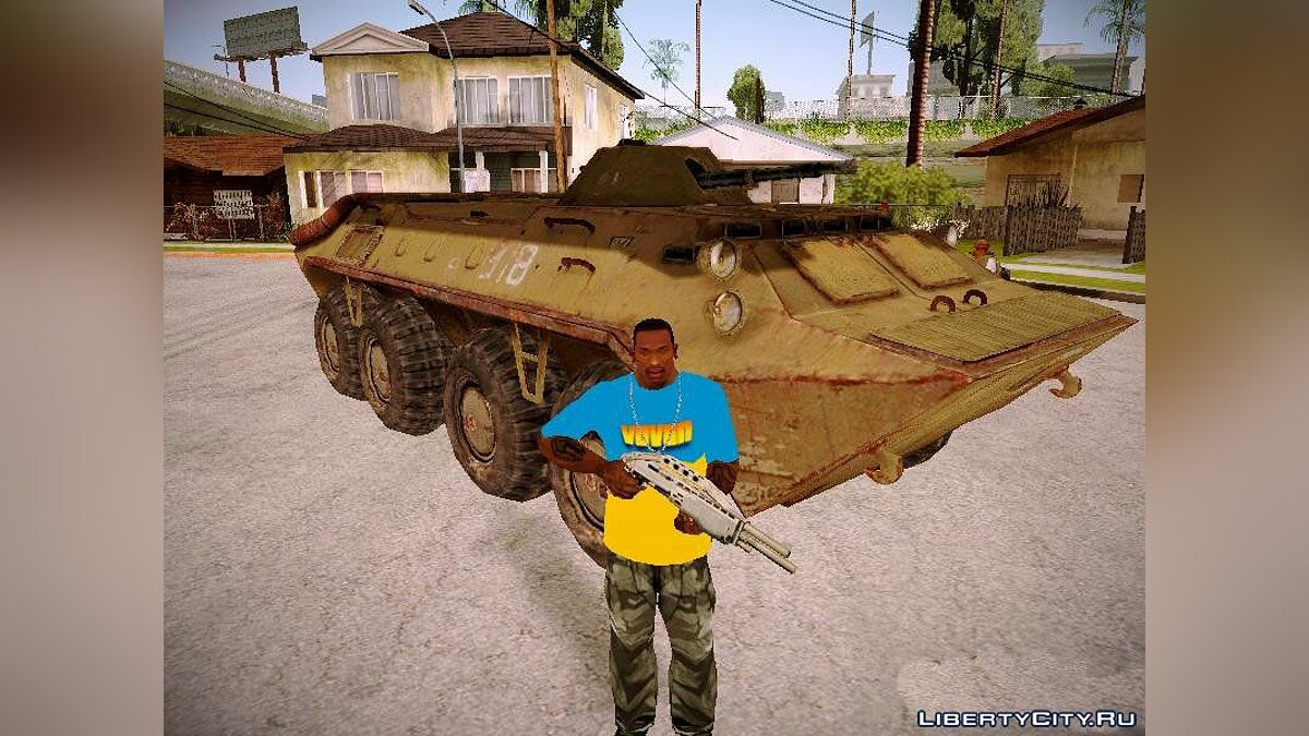 Military vehicle BTR 70 from S.T.A.L.K.E.R for GTA San Andreas