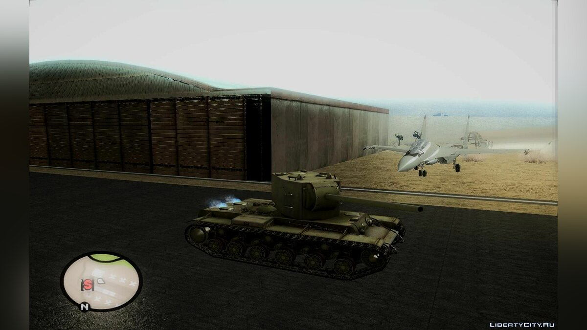 Military vehicle KV-2 for GTA San Andreas