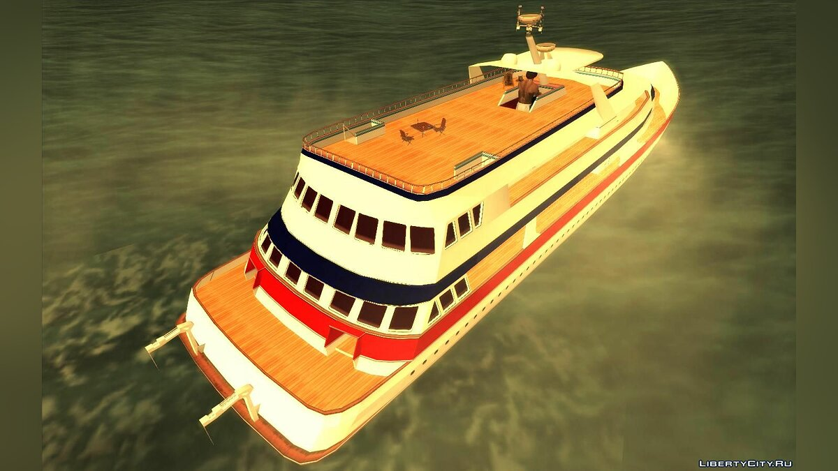 Boats and motorboats Yacht Colonel Cortez for GTA San Andreas