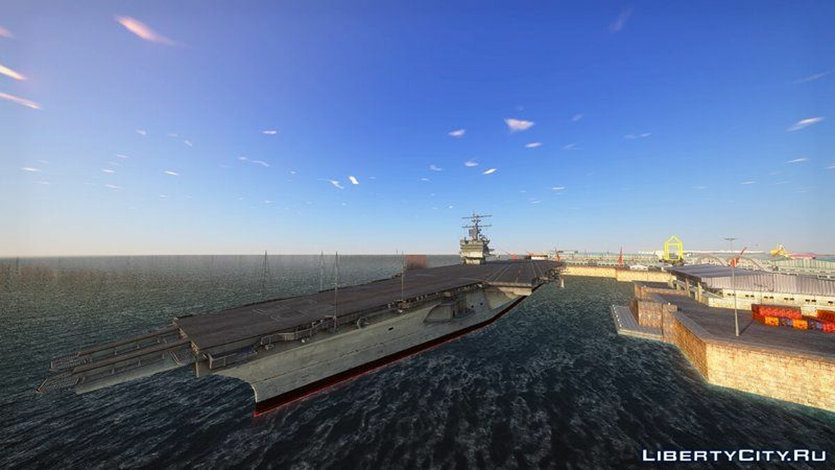 Boats and motorboats 1960 USS Enterprise (CVN-65) for GTA San Andreas