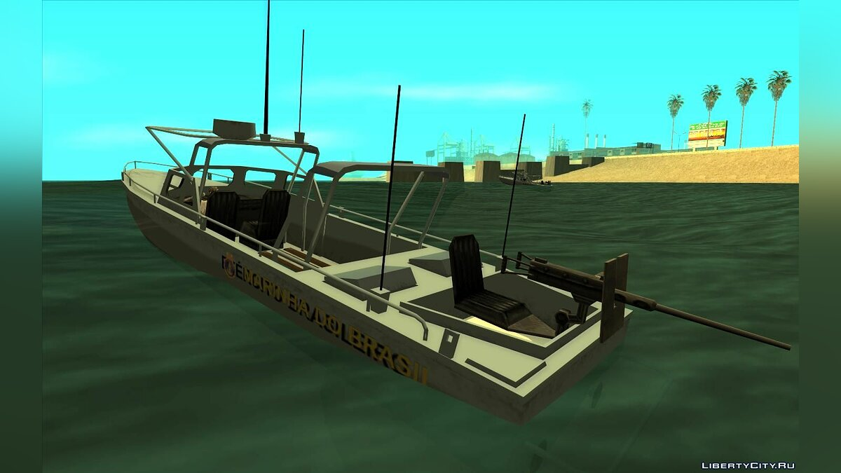 Boats and motorboats Brazilian navy boat for GTA San Andreas
