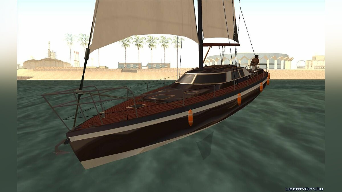 Boats and motorboats GTA 5 Dinka Marquis for GTA San Andreas