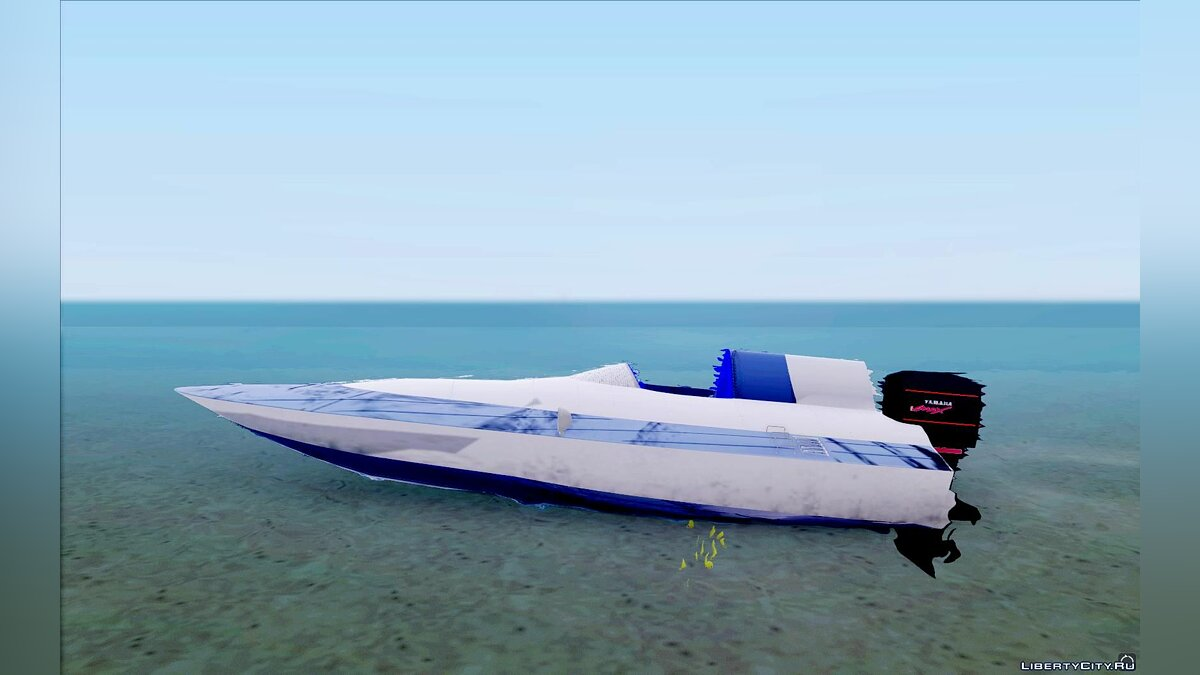Boats and motorboats Race Boat for GTA San Andreas