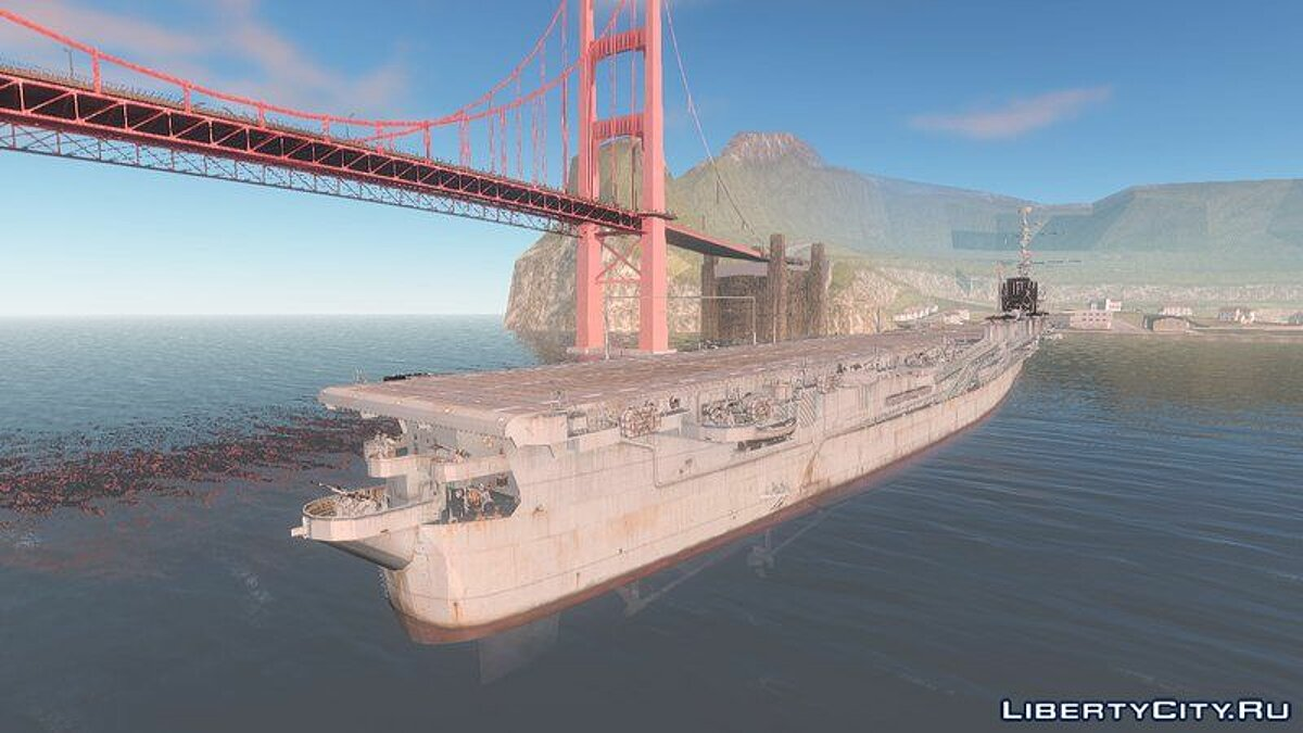 Boats and motorboats Independence Aircraft Carrier for GTA San Andreas