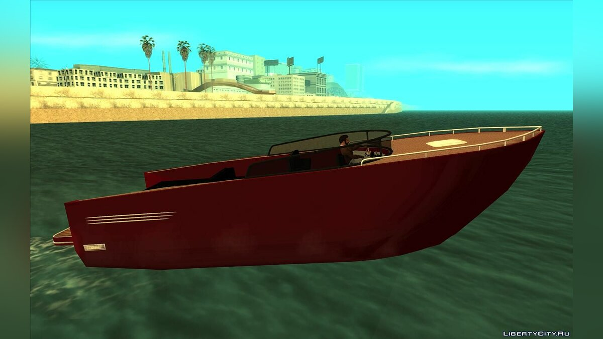 Boats and motorboats Modern boat for GTA San Andreas