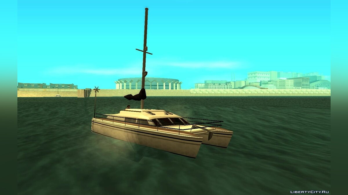 Boats and motorboats Rio from GTA: Vice City for GTA San Andreas