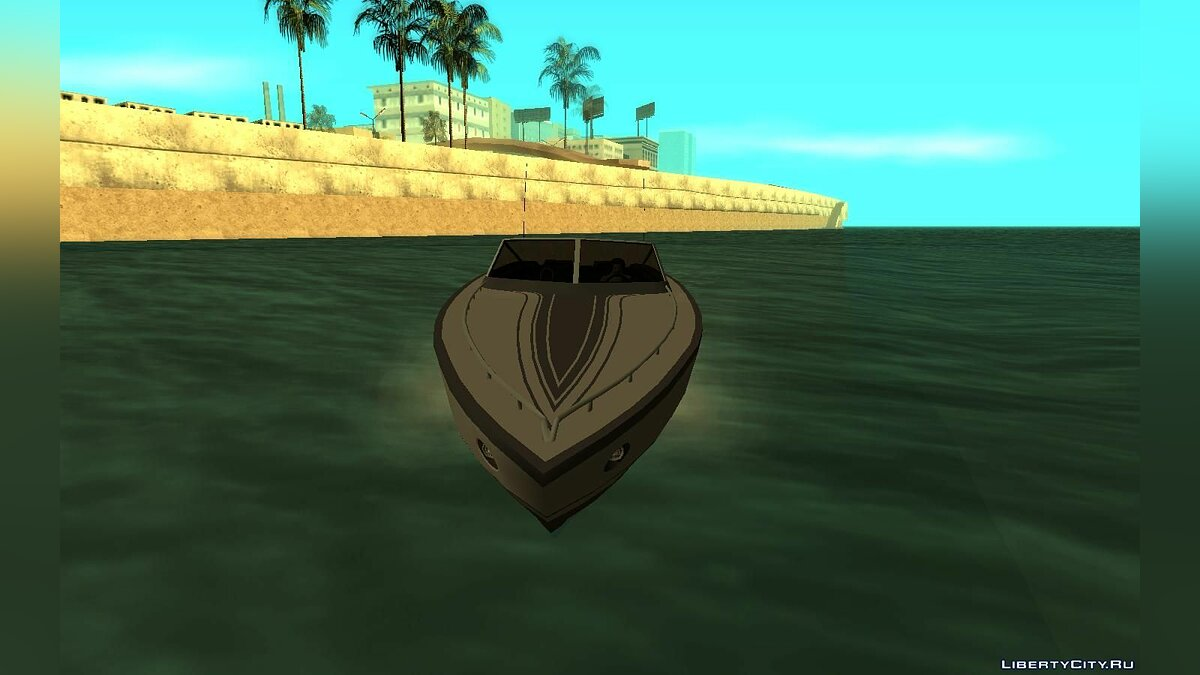 Boats and motorboats Jetmax from GTA 4 for GTA San Andreas