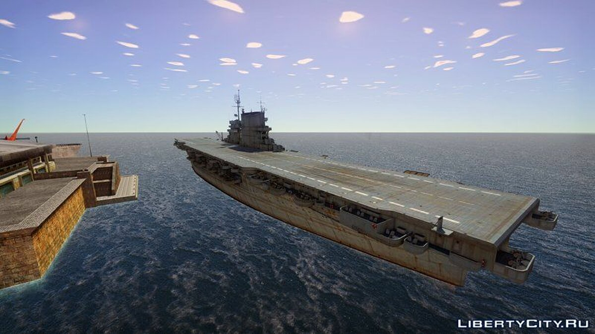 Boats and motorboats 1922 USS Lexington for GTA San Andreas