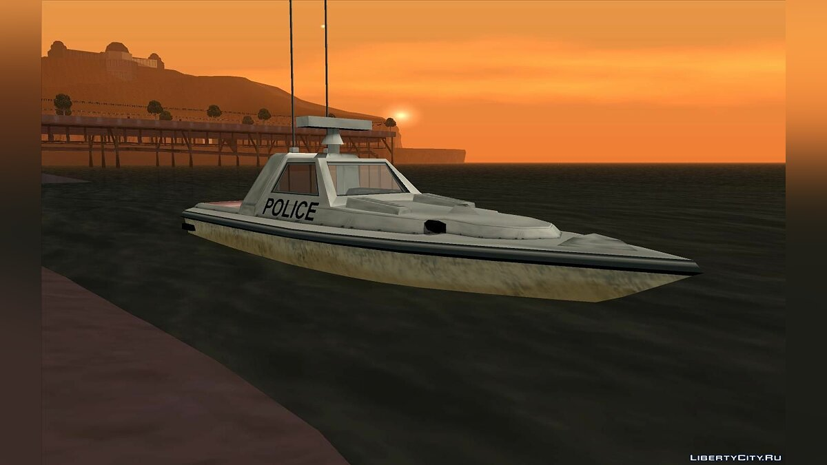Boats and motorboats Squalo and Predator from GTA VC for GTA San Andreas