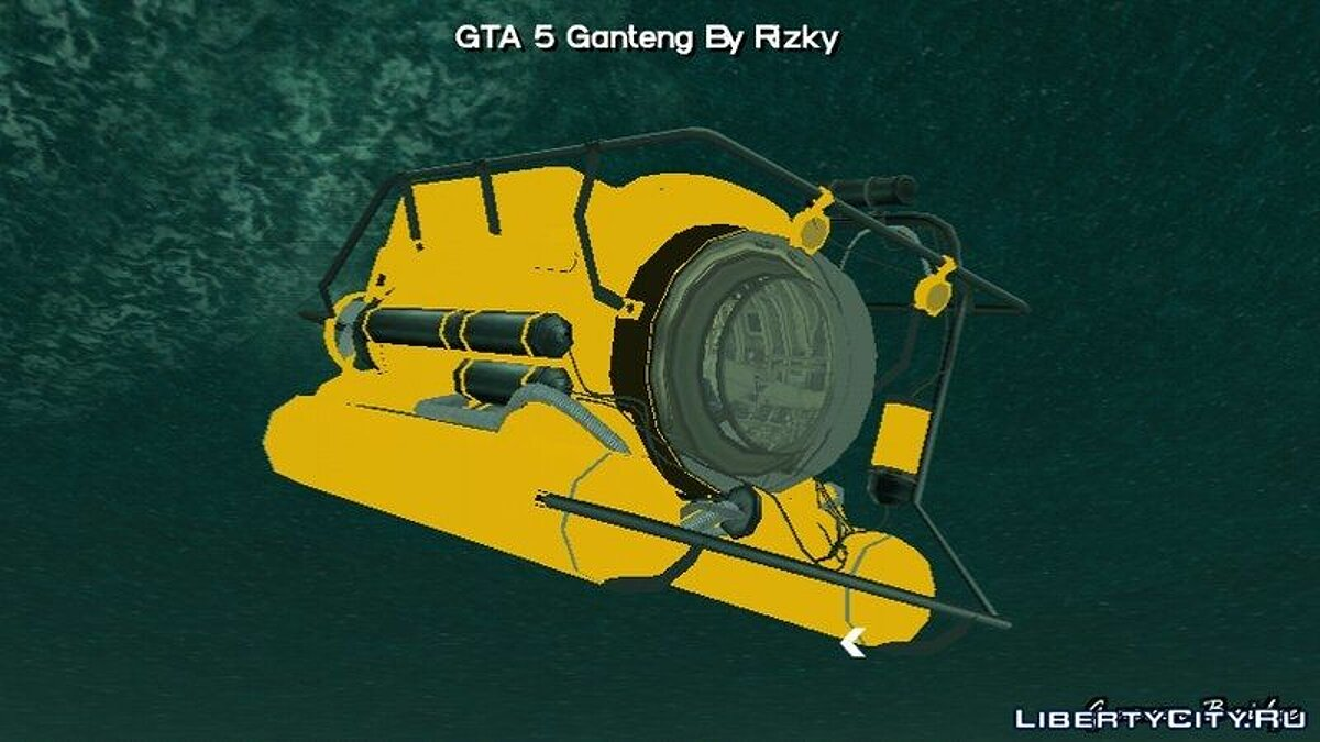 Boats and motorboats GTA 5 Submarine For Android for GTA San Andreas (iOS, Android)
