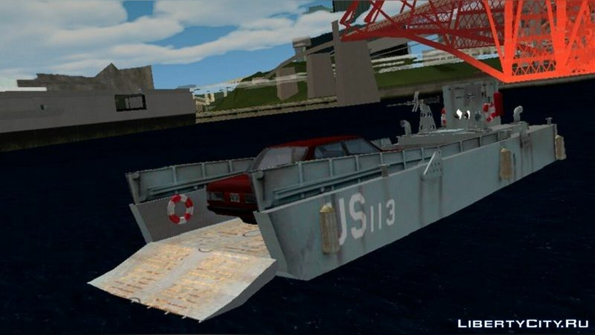 Boats and motorboats Landing craft for GTA San Andreas (iOS, Android)
