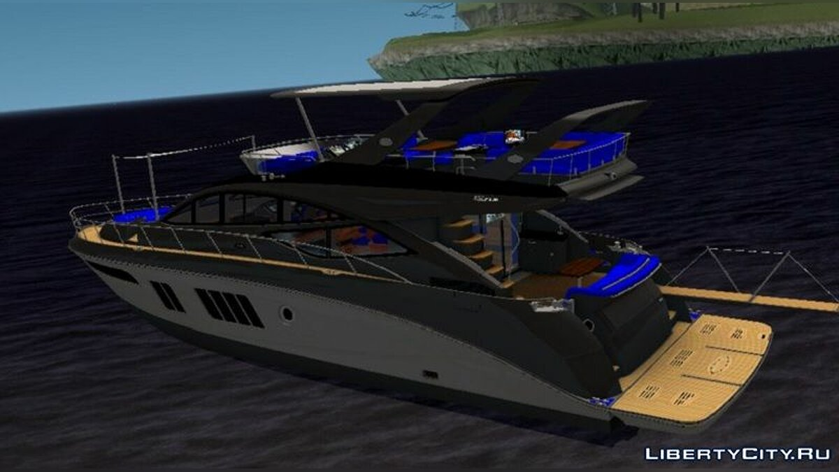 Boats and motorboats Sea Ray L650 Fly 2014 for GTA San Andreas (iOS, Android)