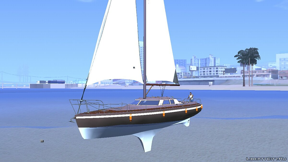 Boats and motorboats Dinka Marquis from GTA 5 for GTA San Andreas (iOS, Android)