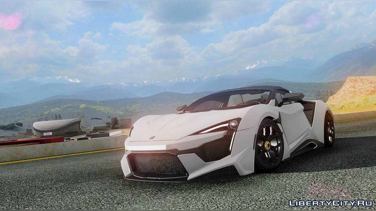 W Motors car W Motors Fenyr Supersport for GTA San Andreas