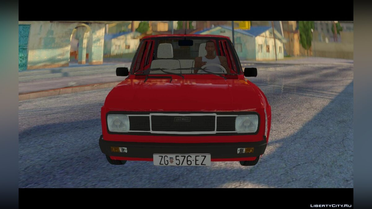 Zastava car Zastava 128 Skala 55 for GTA San Andreas