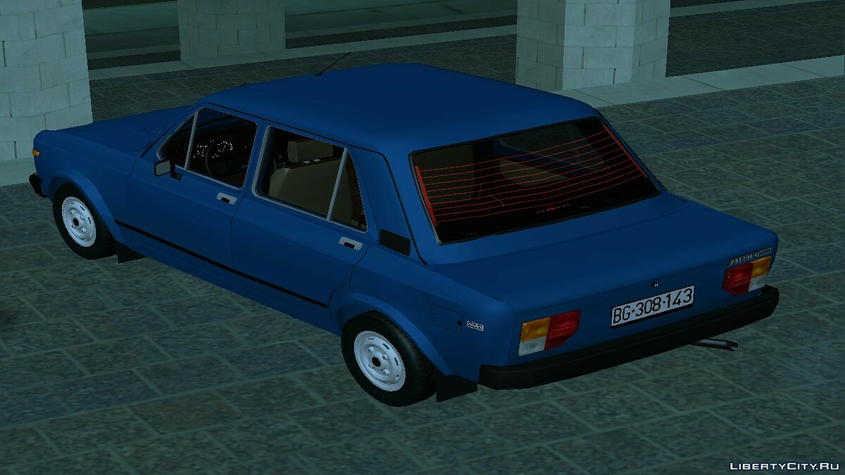 Zastava car Zastava 128 1100 for GTA San Andreas