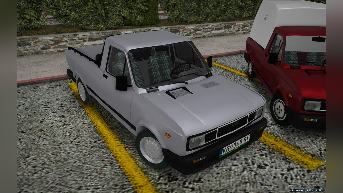 Zastava car 1989 Outpost Skala Piskop for GTA San Andreas