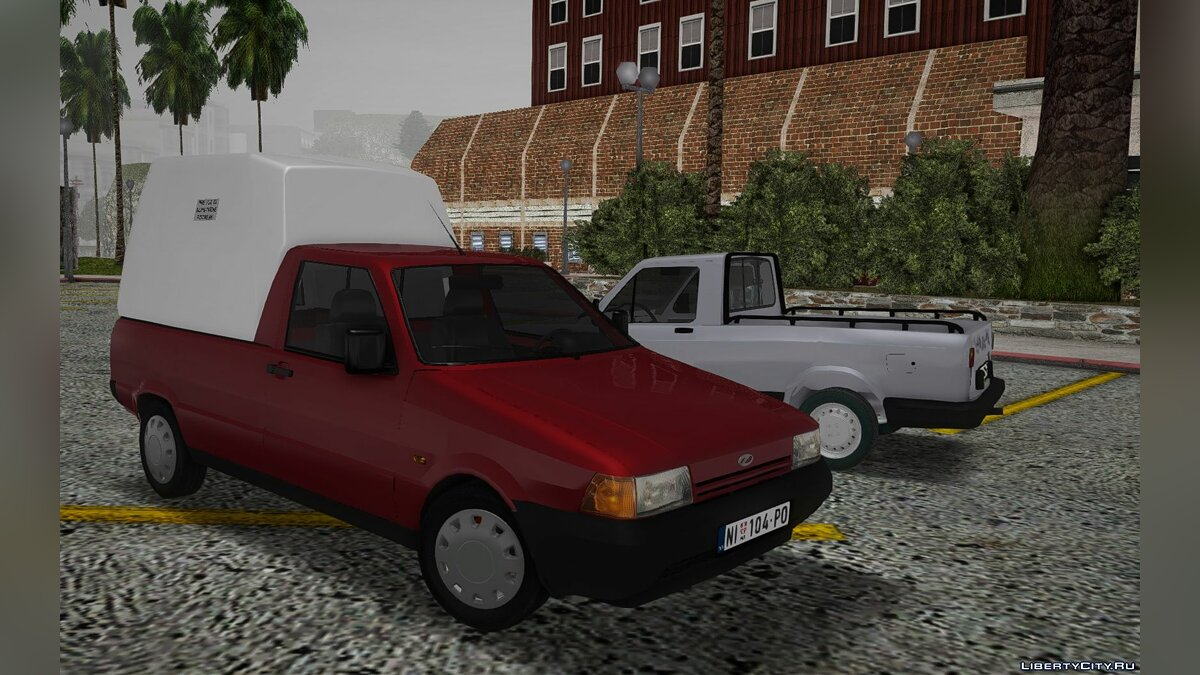 Zastava car 2002 Outpost Florida Floors for GTA San Andreas
