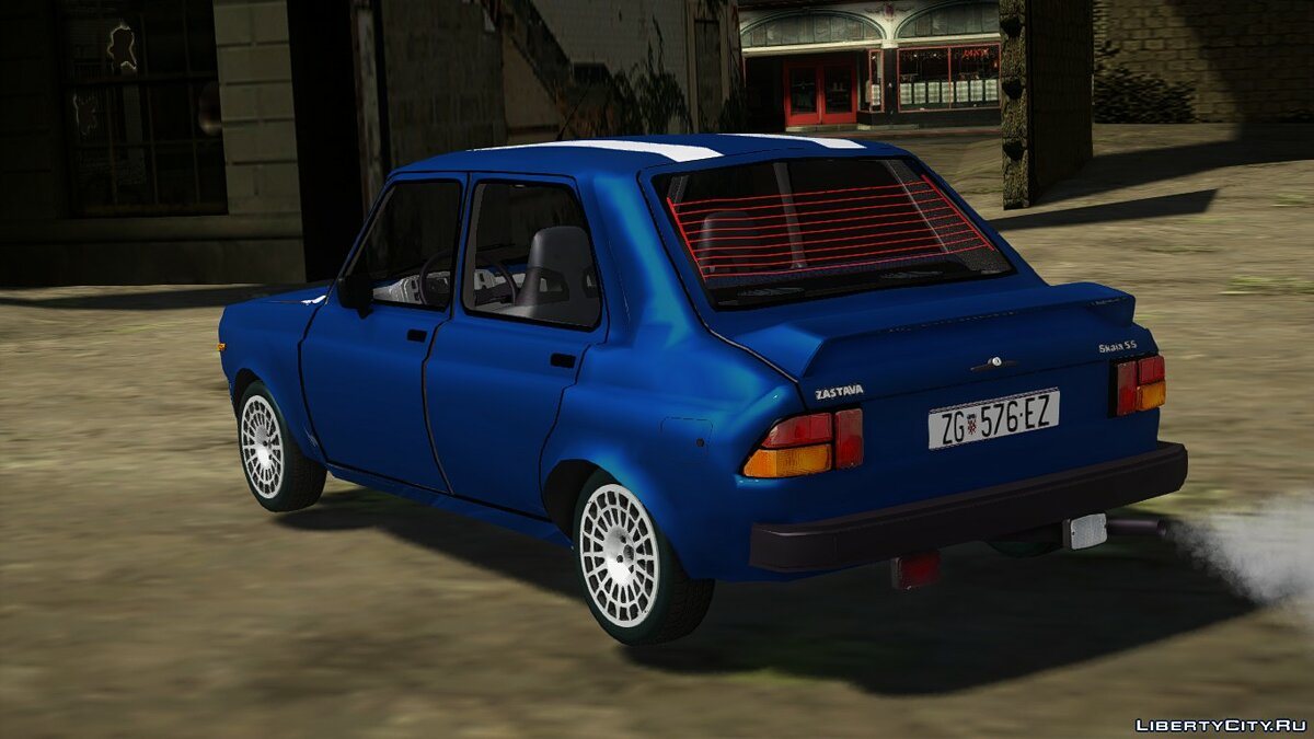 Zastava car Zastava Skala 55 Sport for GTA San Andreas