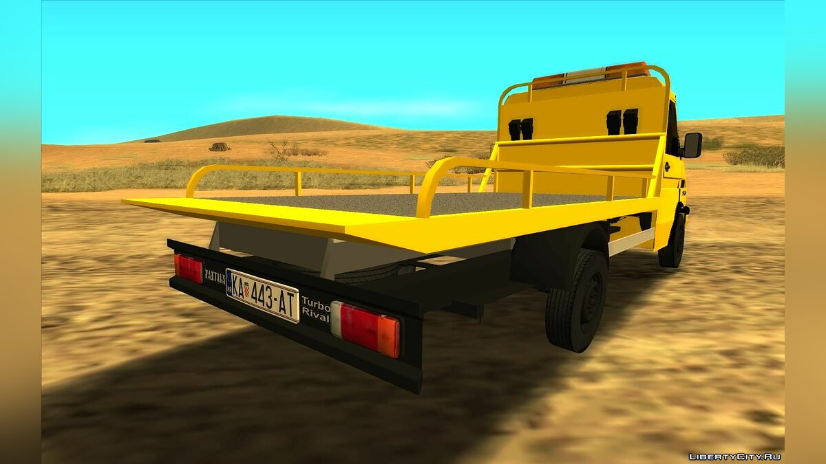 Zastava car Outpost Turbo Rival HAC for GTA San Andreas