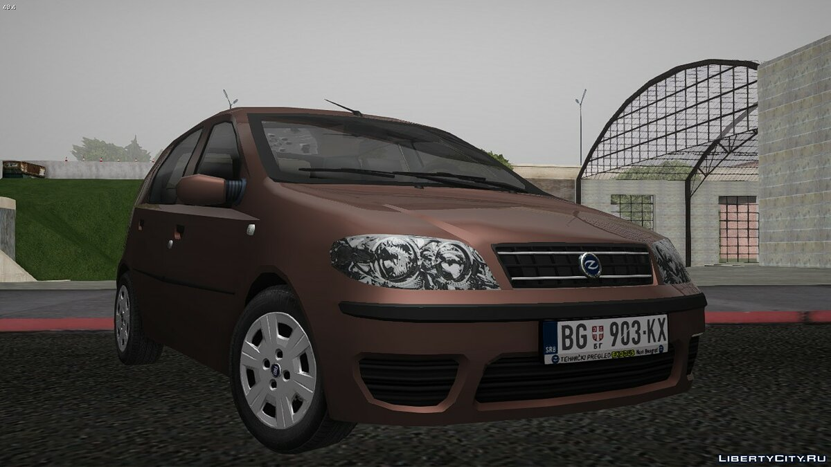 Zastava car 2007 Outpost 10 for GTA San Andreas