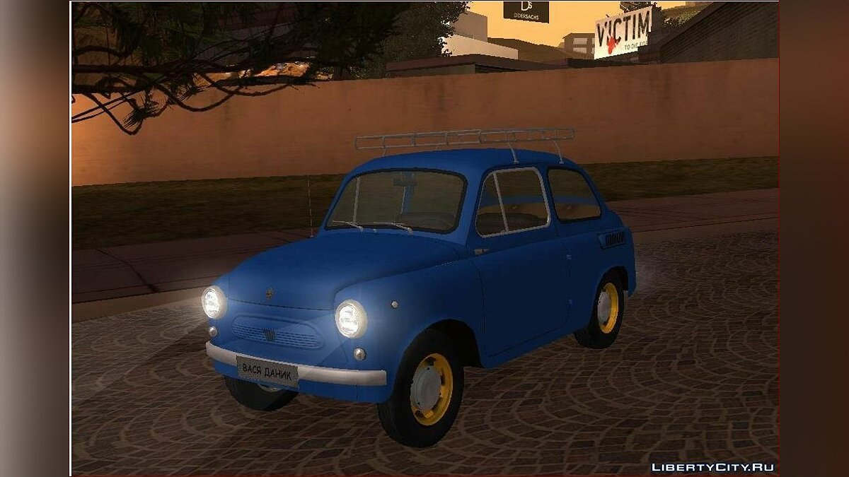 ZAZ car ZAZ 965M for GTA San Andreas